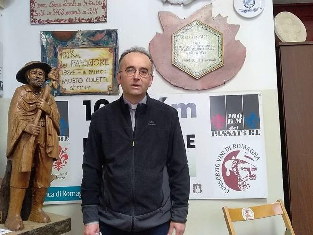 La 100 Km 'Romagnola' di Don Luca