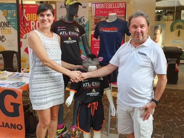 Di corsa insieme: nasce la partnership tra Atl-Etica e Running Team