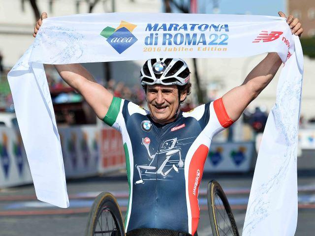 """Alex Zanardi ospite speciale a Bergamo per """"UniBG senza limiti"""""""