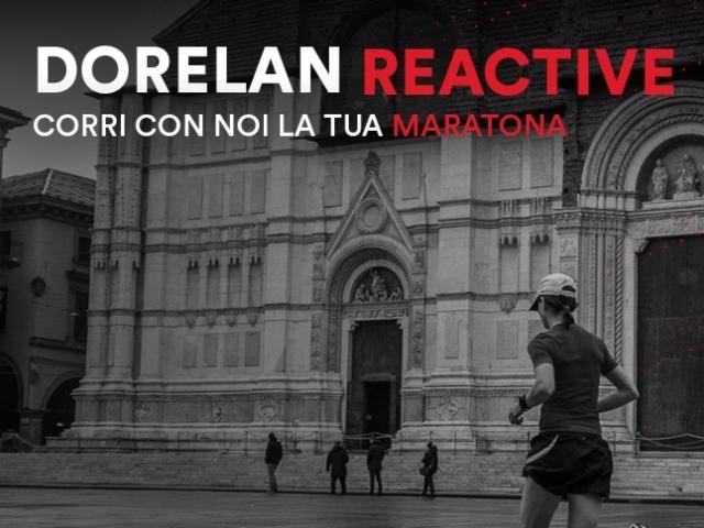Corri a Bologna o a Firenze la tua prima Maratona insieme a Dorelan Reactive