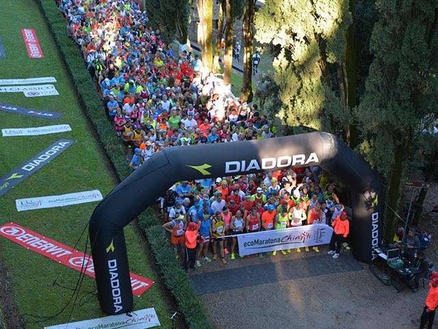 14^ EcoMaratona del Chianti Classico: Diadora si conferma sponsor tecnico