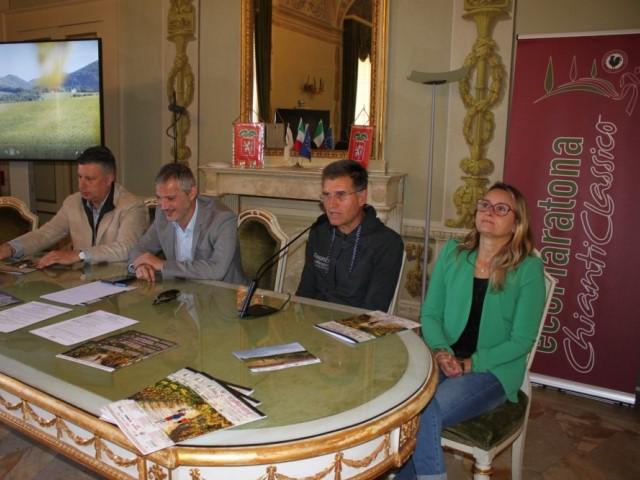 Presentata la Ecomaratona Chianti Classico a Siena