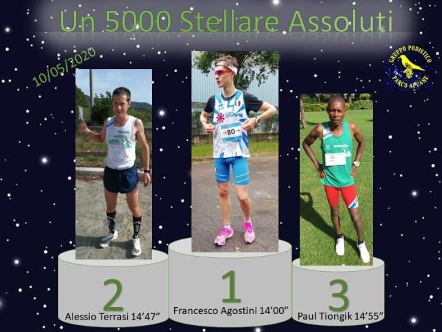 Un 5000 stellare (evento GP Parco Alpi Apuane Team Ecoverde)