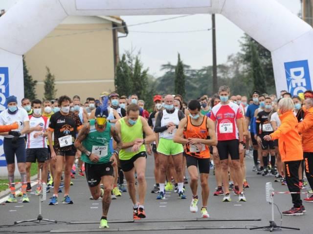 Ottima organizzazione anticovid alla GP Run 2K