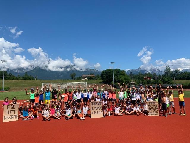 GS La Piave 2000, che successo l'Athletics Summer Camp
