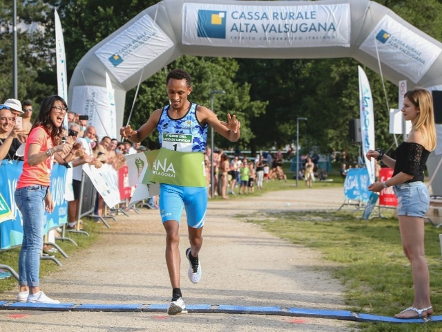 Nekagenet Crippa e Jacklin De Marchi mettono le mani sul «Giro del Lago di Levico»