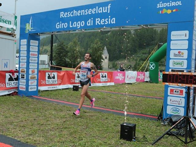 Giro Lago di Resia: vincono Soffientini e Ghidini. C'è il record, otto minuti per dirsi 'Sì'