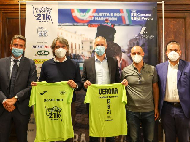 """Giulietta&Romeo Half Marathon, Sindaco Sboarina: """"Anche con questo evento Verona si risolleva e riparte"""""""
