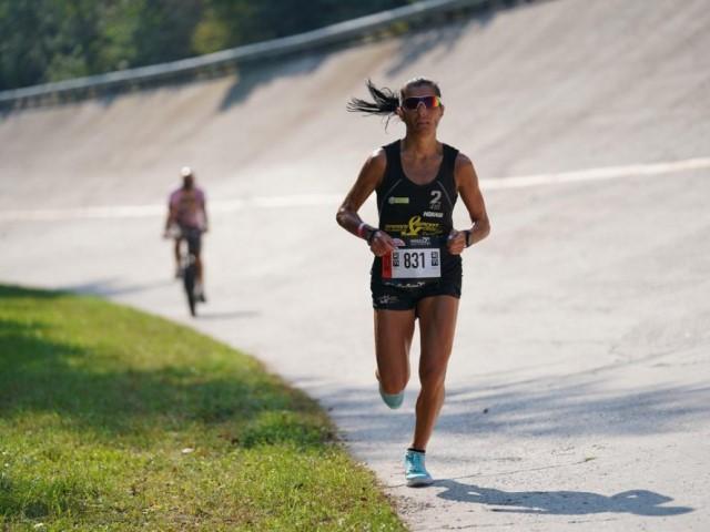 """30eLode per Ivana Iozzia del Racing Team Affari&Sport:  """"Mangio, corro, dormo. Ho tutto, la corsa aumenta l'autostima, però niente New York Marathon"""""""