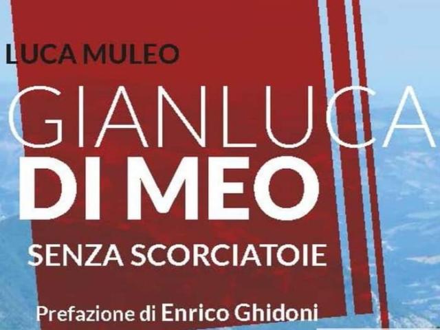 """Enrico Ghidoni e la presentazione del libro """"Gianluca Di Meo - Senza scorciatoie"""""""