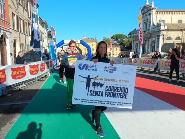 #IOCORROSENZAFRONTIERE, il contest della Maratona di Ravenna dedicato alle persone con disabilità