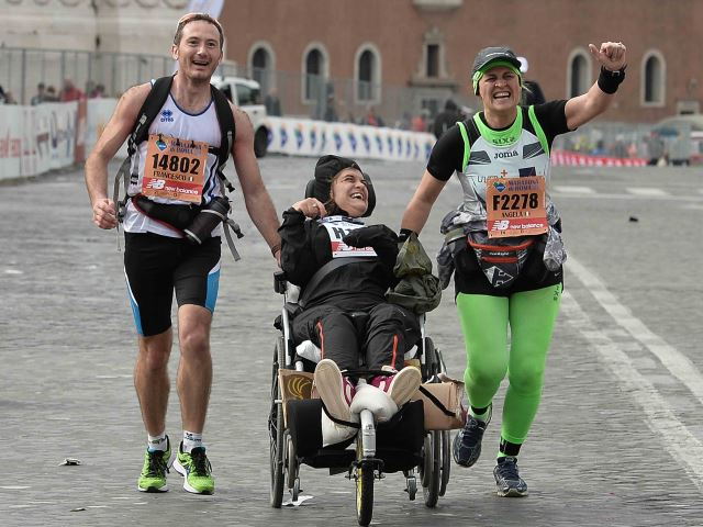'Insiemeper… realizzare un sogno all'Acea Run Rome The Marathon""