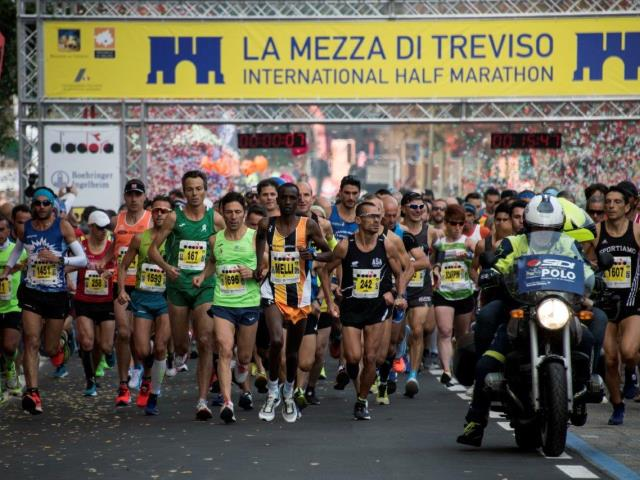 Melly e la novità Scarpini conquistano la Mezza di Treviso