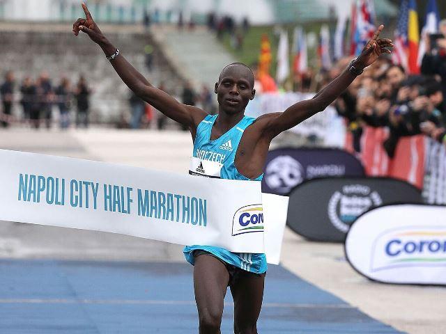 Napoli City Half Marathon, torna il recordman Abel Kipchumba