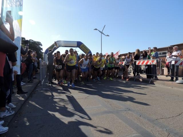 Nature Run: a Tarquinia Lido Andrea Azzarelli e Silvia Nasso vincono la 10km del Mare