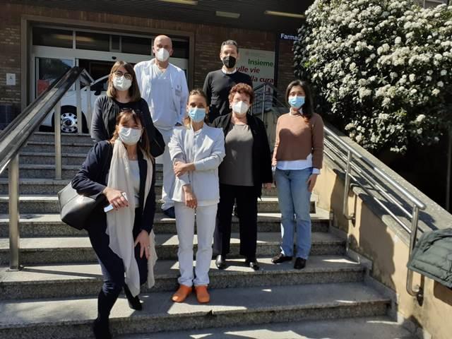 Installati gli arredi acquistati con la donazione di Ravenna Runners Club all'ospedale S.Maria delle Croci