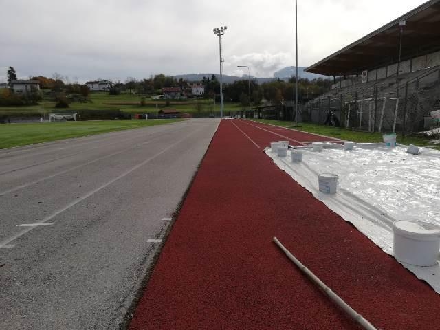 Iniziati i lavori per la nuova pista di atletica di Borgo Valbelluna