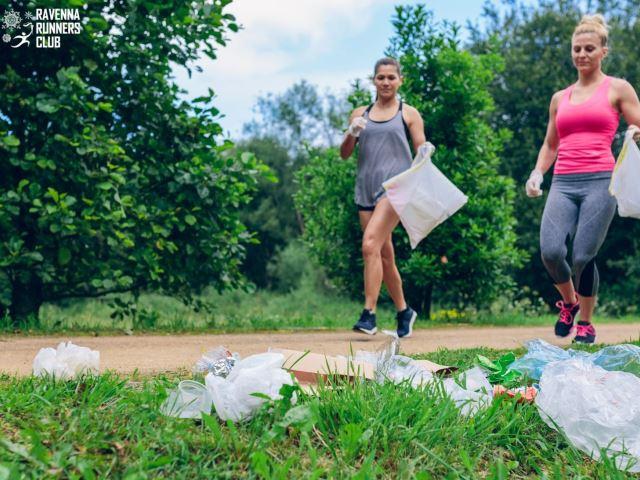 Con il Plogging, una giornata dedicata a sport e ambiente insieme a Ravenna Runners Club