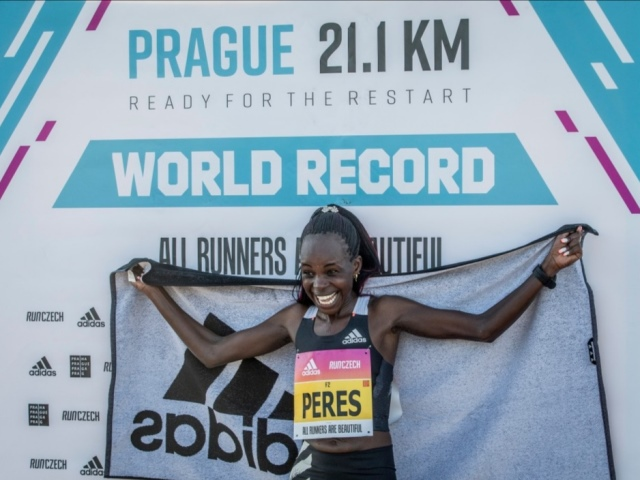 Praga 21,1 km - Ready for the Restart ha assistito ad un record mondiale di mezza maratona!