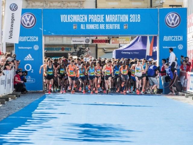 Posticipata la Volkswagen Prague Marathon