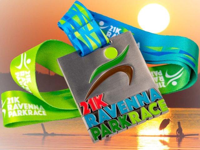 Ravenna Park Race, ecco la medaglia per l'evento del 15 settembre nel Parco del delta del Po