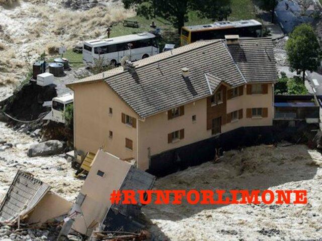 #RUNFORLIMONE è la gara di solidarietà a sostegno della comunità di Limone Piemonte