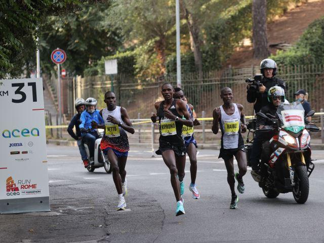 Acea Run Rome The Marathon, trionfa il debuttante keniano Clement Kiprono