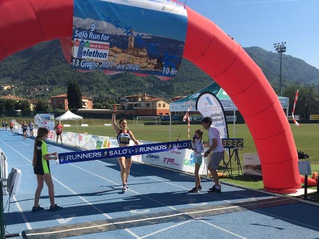 Batel, vittoria e record alla Salò Run