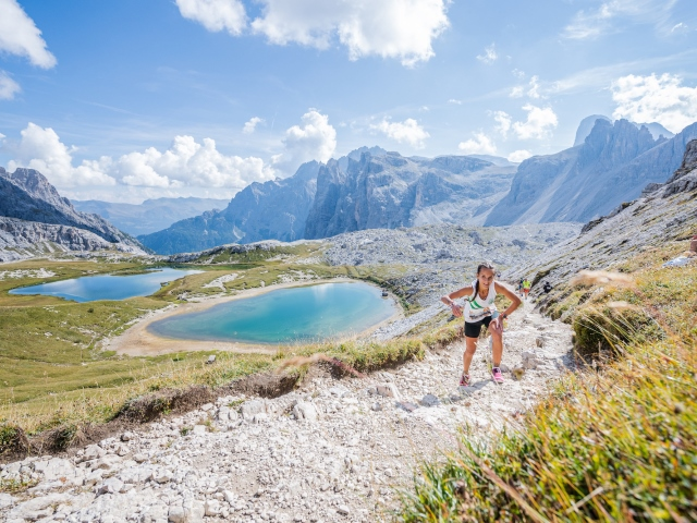 Un successo la Südtirol Drei Zinnen Alpine Run