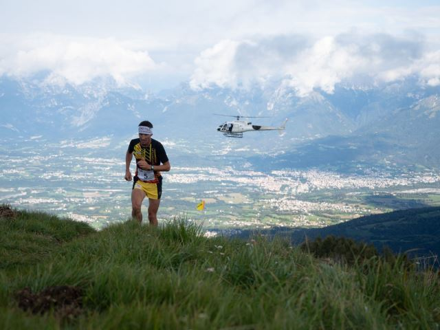 Trail del Nevegal, record del nazionale Daniel Antonioli