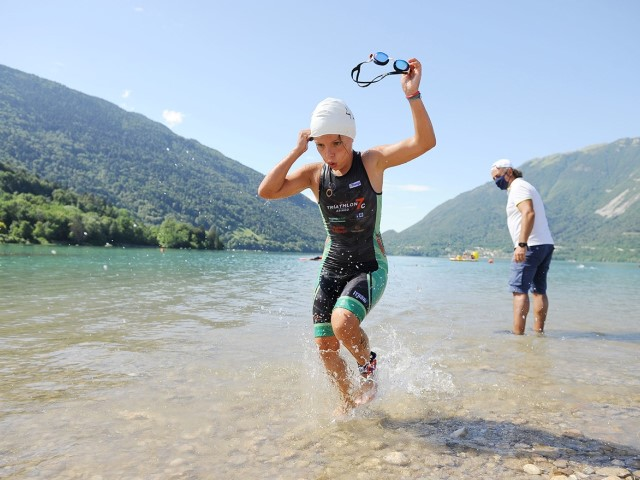 Il Lago di S. Croce in Alpago (BL) pronto ad accogliere Aquathlon Kids e Triathlon Silca Cup
