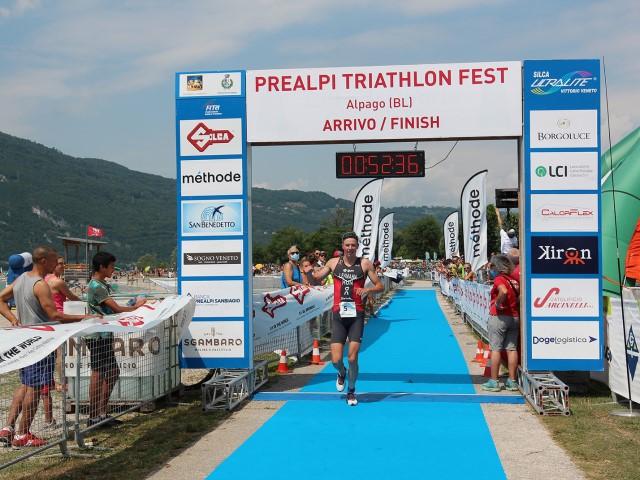 La Triathlon Silca Cup in Alpago (BL) all'ungherese Lehmann e a Francesca Crestani