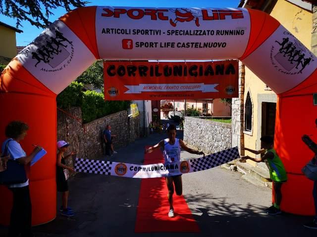 """Alessio Terrasi vince con record il 16^ Trofeo """"Corri nel Comune di Careggine"""""""