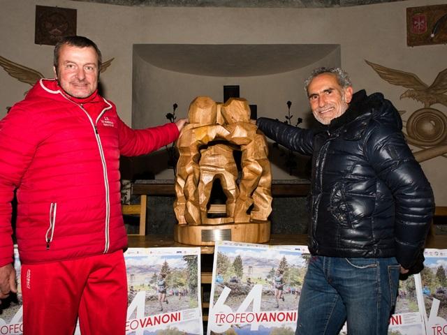 #RoadToVanoni: svelato il nuovo trofeo nella splendida cornice del Tempietto di Morbegno