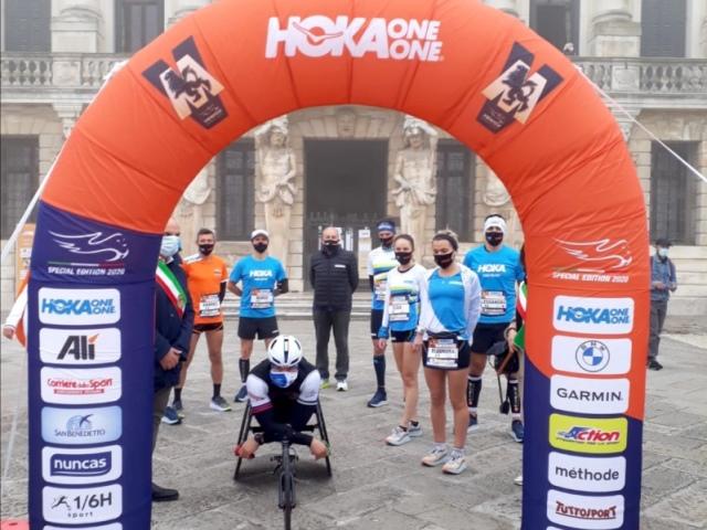 Venicemarathon, la storia continua... Eleonora Corradini, Gabriele Gallo e Pier Alberto Buccoliero scrivono una nuova pagina della Maratona di Venezia