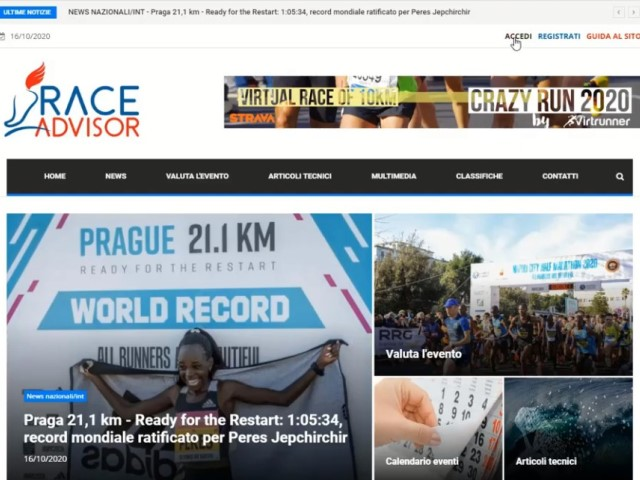 Video Tutorial per le vostre valutazioni su RaceAdvisor